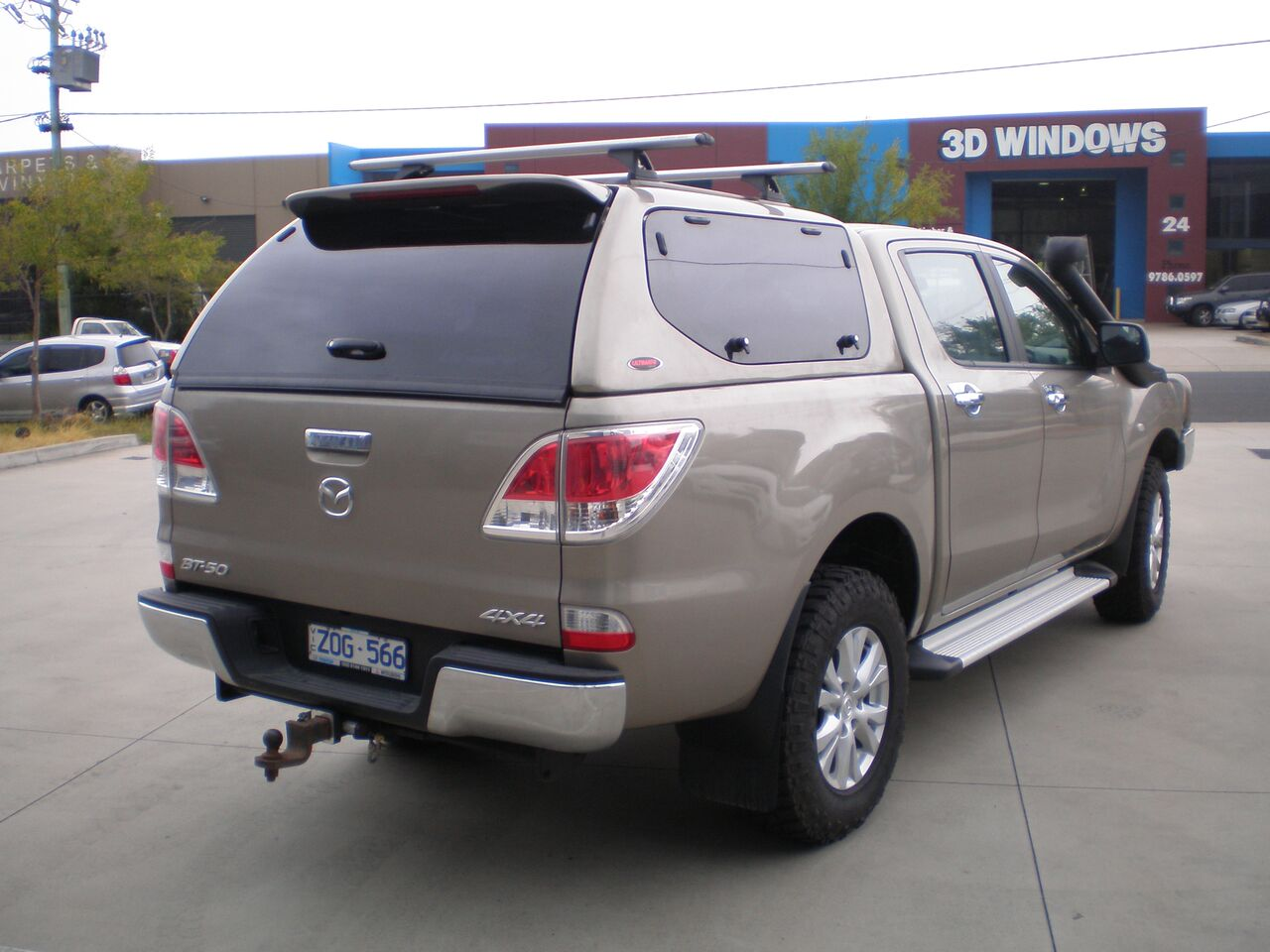Alfa img showing gt leer canopy glass - Mazda Bt50 My16 Canopy